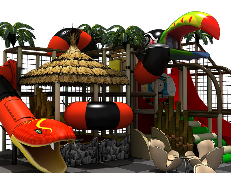 Jungle Python series indoor playground for sale