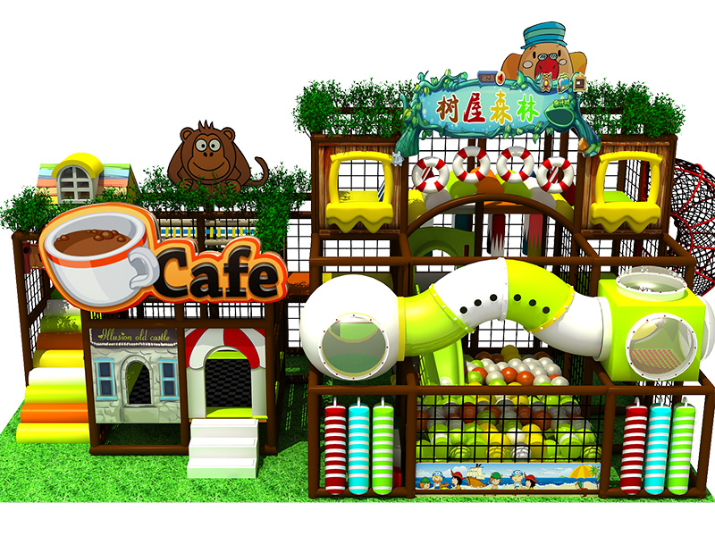 dream garden commercial indoor jungle gym