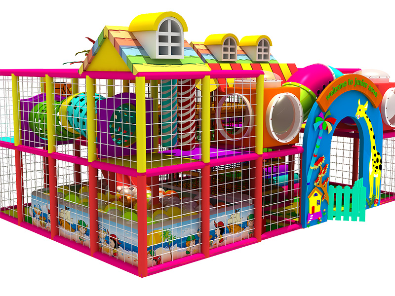 Customer's indoor playground equipment project from USA