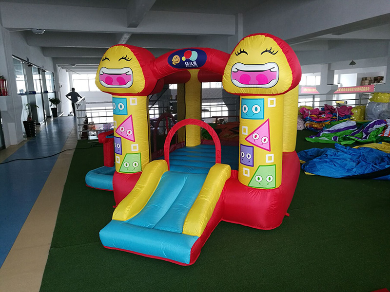 Commercial Inflatable Swimming Pool With Slide