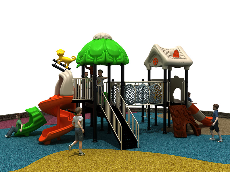2020 new outdoor playground design with high quality for kids made in china