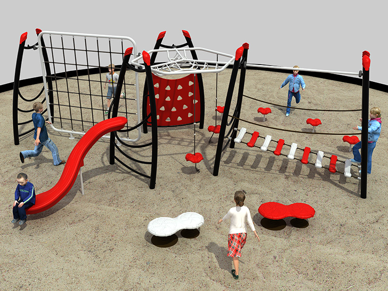 Dream garden  offers a wide range of inclusive playground equipment that includes play systems, ramps, swings, slides and more