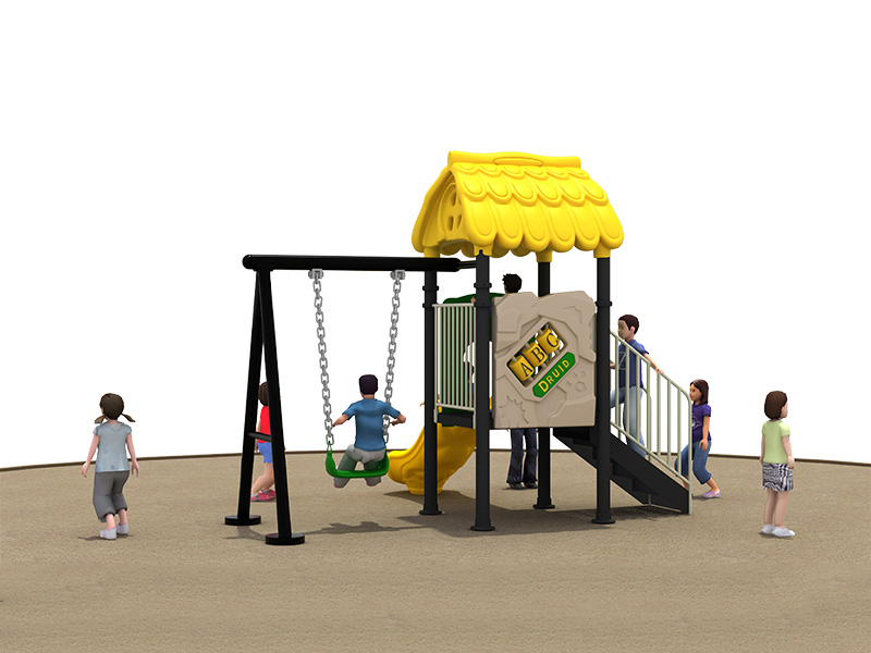 New design outdoor rubber playground customized inclusive