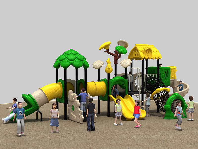 dream garden tot town playground made in china