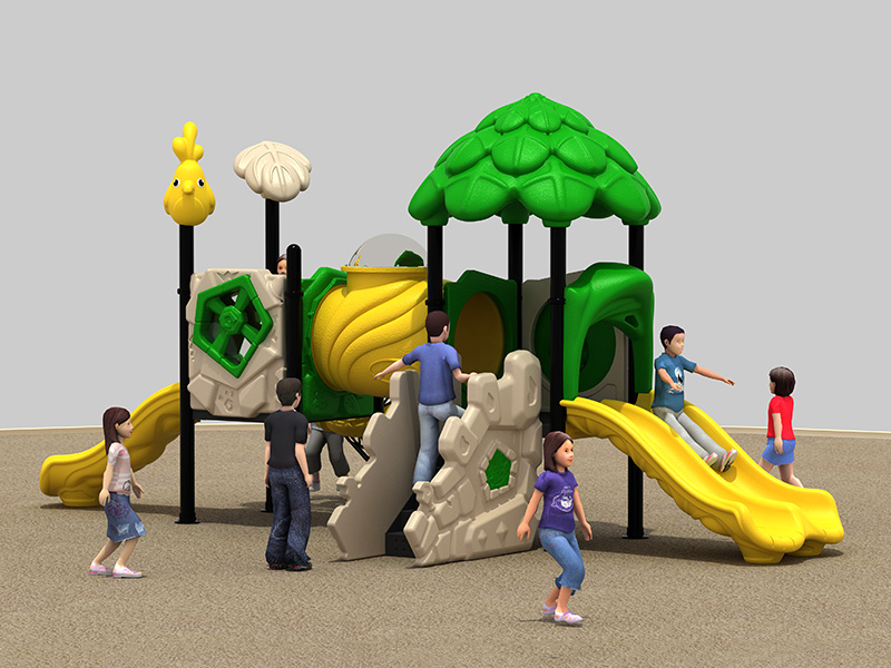 Manufacturer customized inclusive rubber playground equipment