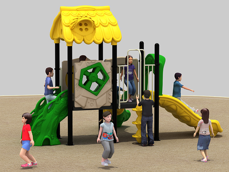 Commercial customized inclusive rubber playground equipment