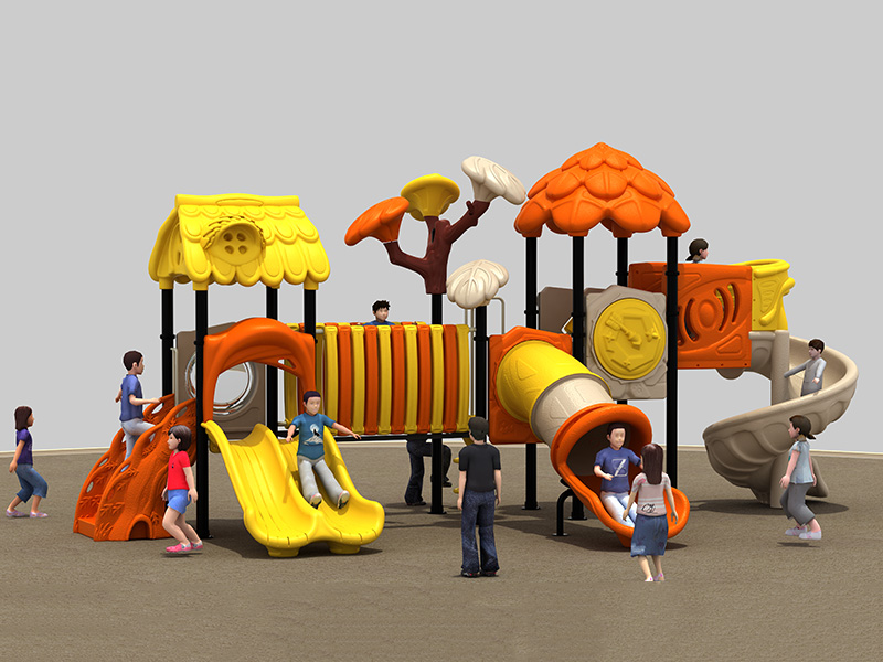 Good customized inclusive rubber playground park