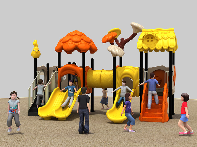 dream garden residential playground equipment made in china
