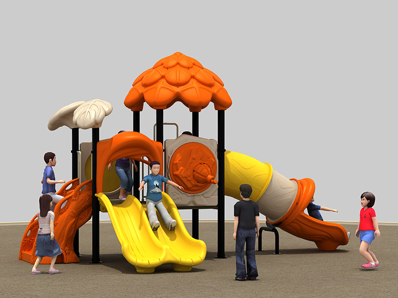 Play game customized inclusive rubber playground park