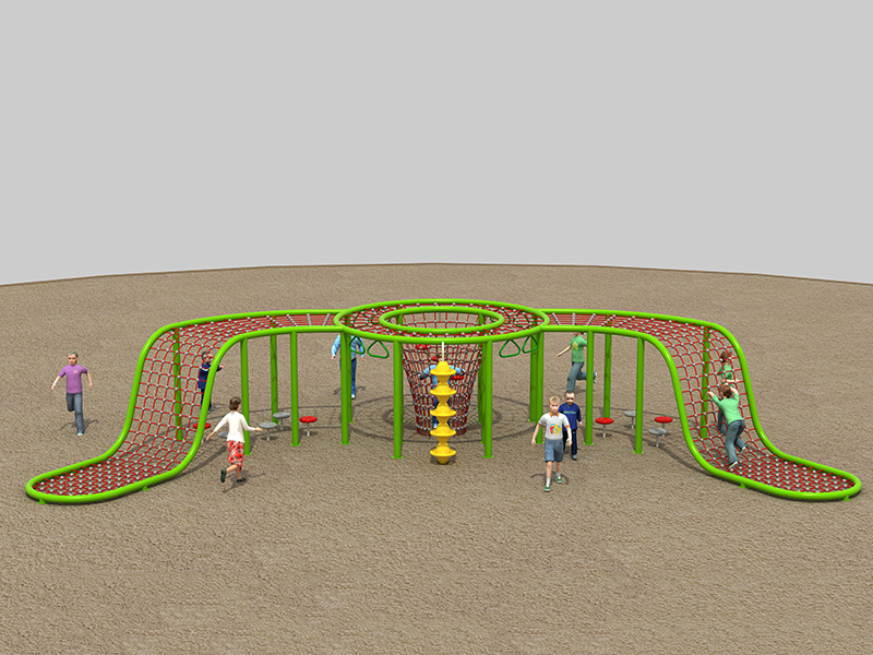 Play game customized inclusive playground equipment