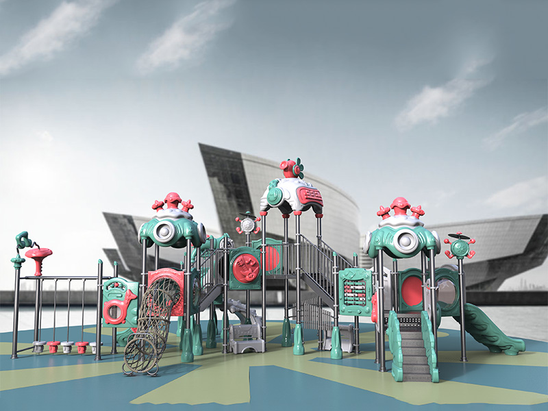 High quality customized inclusive outdoor play equipment