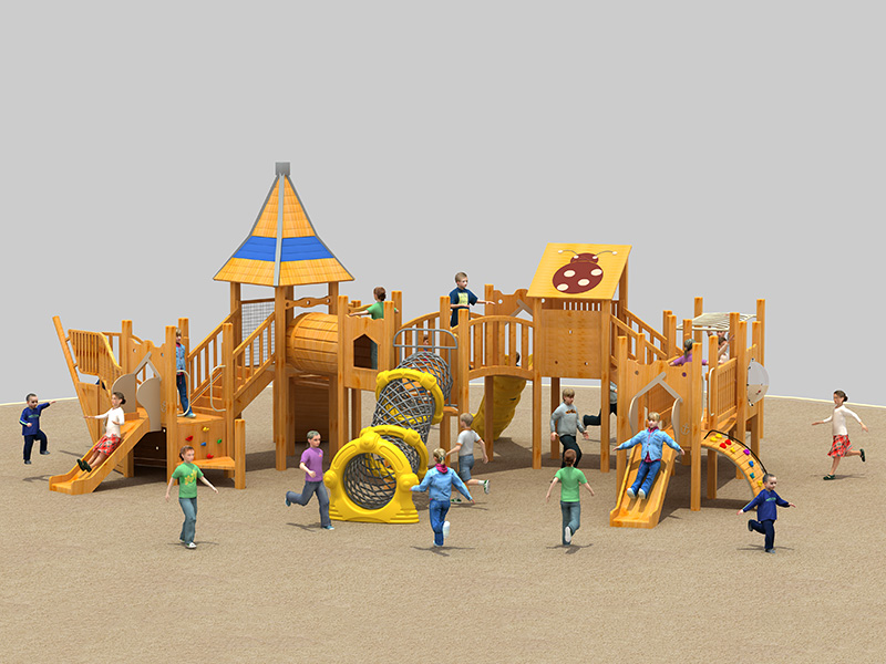 Children's customized inclusive outdoor play equipment