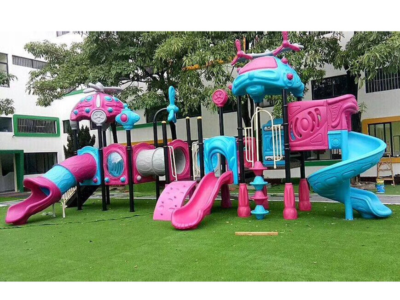 Helicopter series outdoor slide swing play equipment