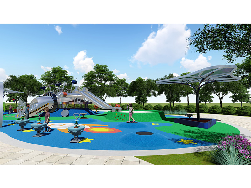 dream garden rope bridge playground equipment trade company