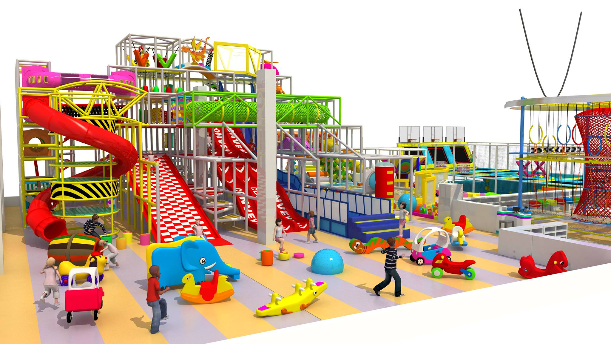 Commercial Indoor Playgounds and Play Equipment new 2018