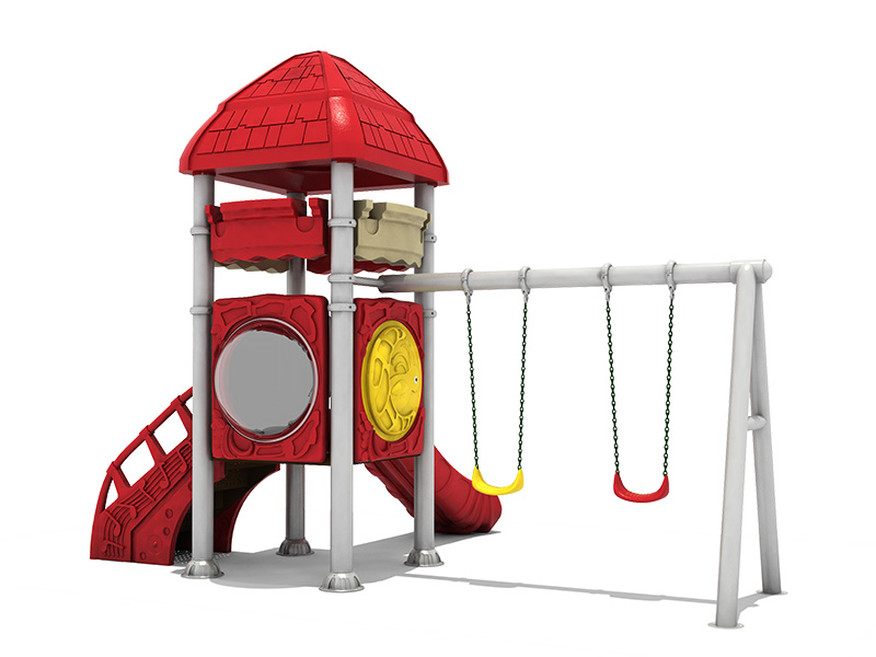 Commercial outdoor leisure park playground equipment for sale