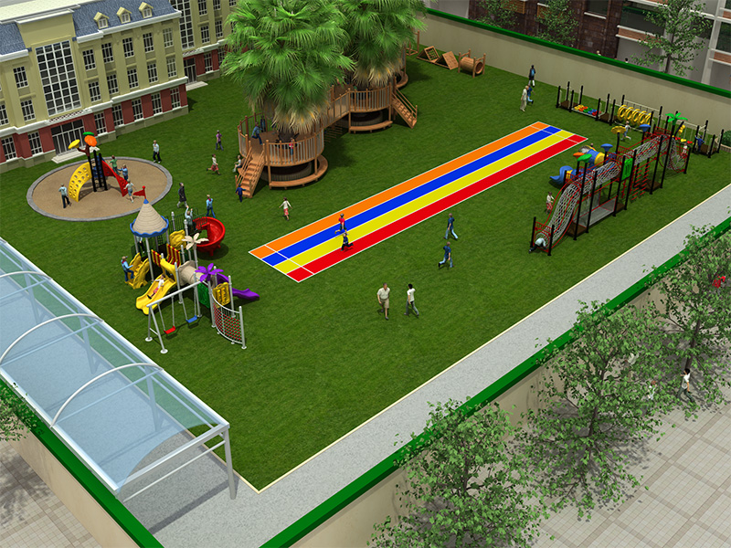 dream garden new custom play park design manufacturer