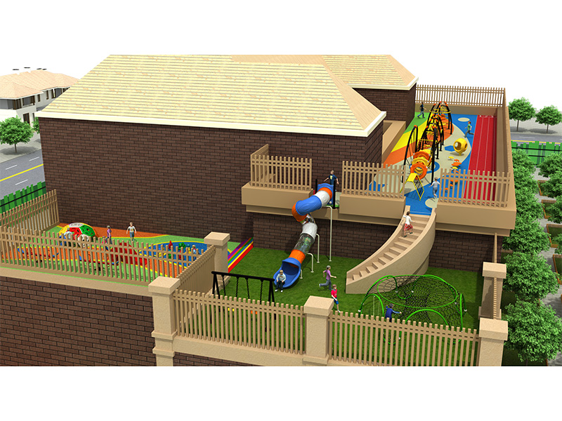 dream garden school playground trade company