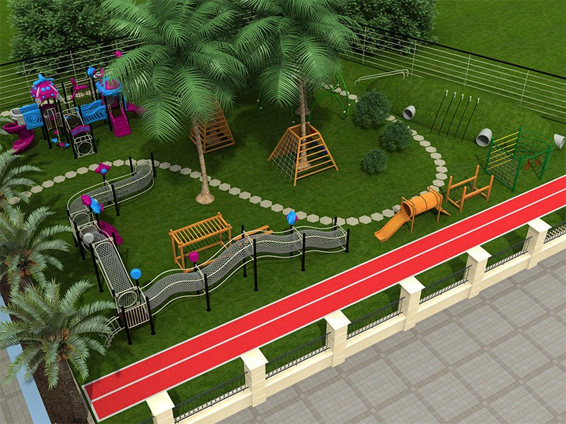 dream garden space net play equipment trade company