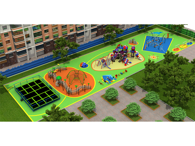 dream garden new custom school play structures manufacturer