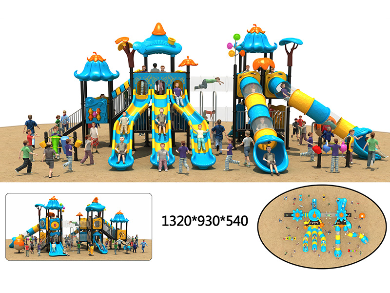 dream garden castle playground trader