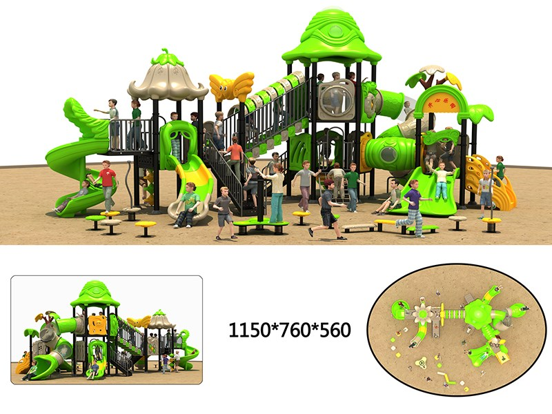 small outdoor playground with high quality for sale