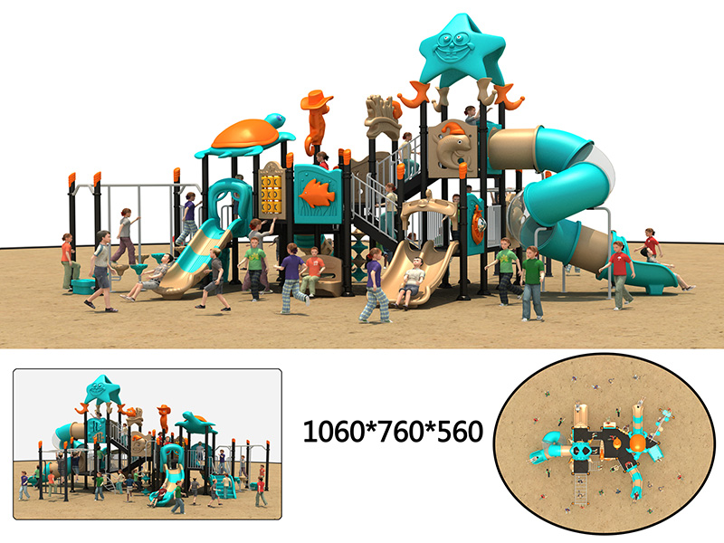 small outdoor playground for park