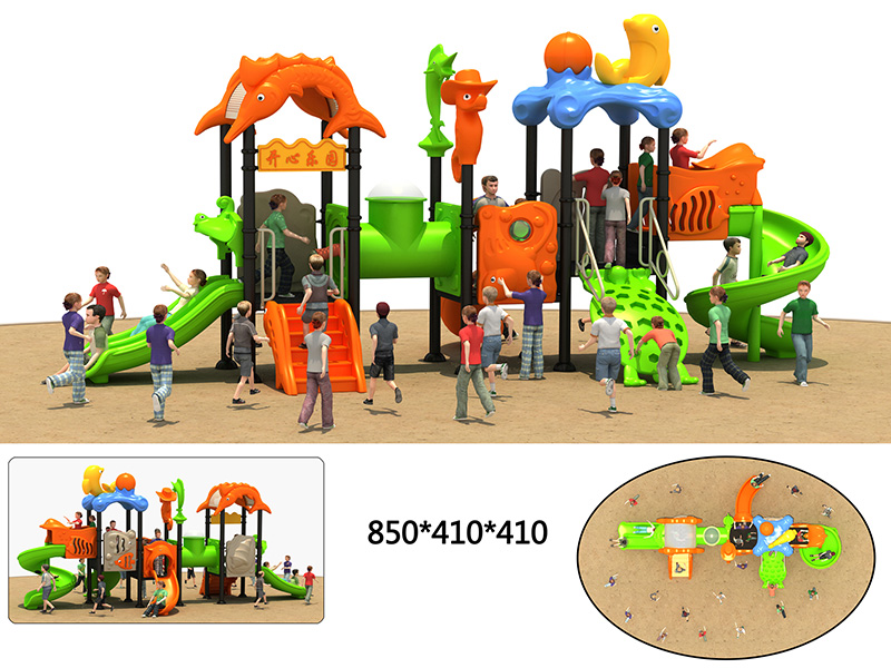 dream garden best outdoor playground with high quality for sale