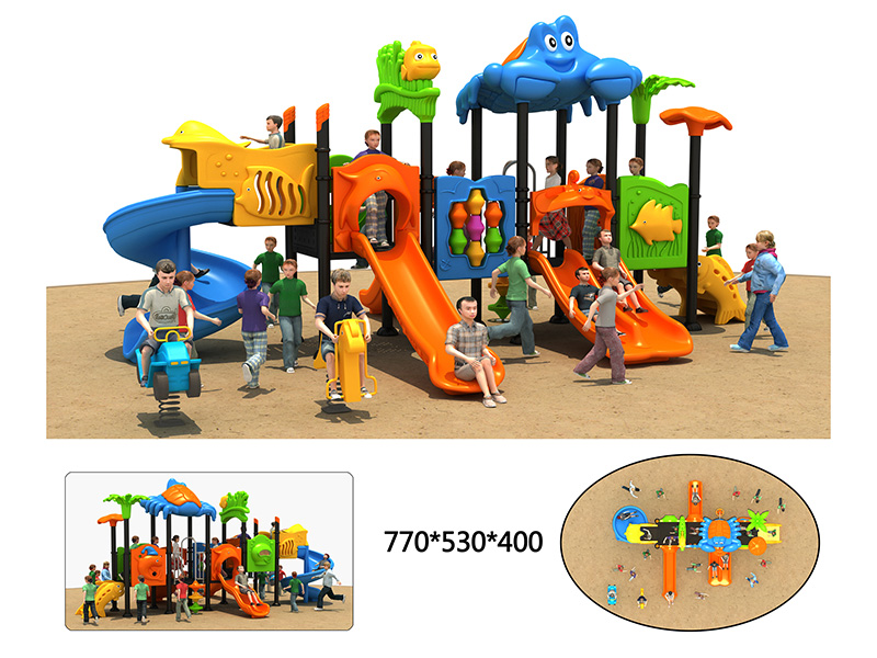 dream garden best outdoor playground with high quality for park