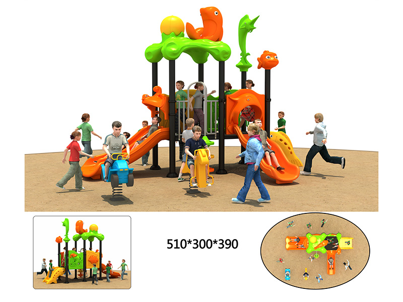 outdoor fitness playground with high quality for kindergarden