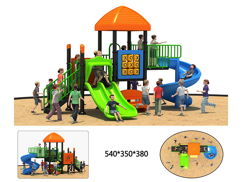 outdoor fitness playground for park
