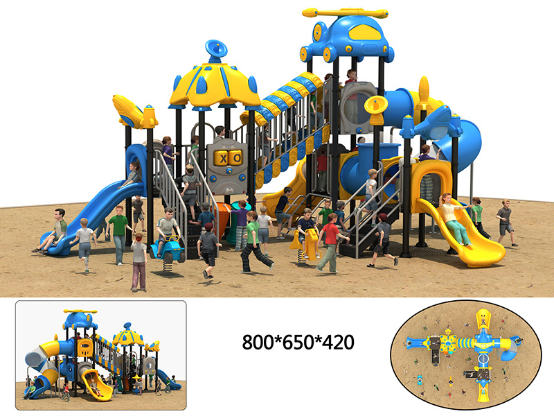 outdoor fitness playground for nursery