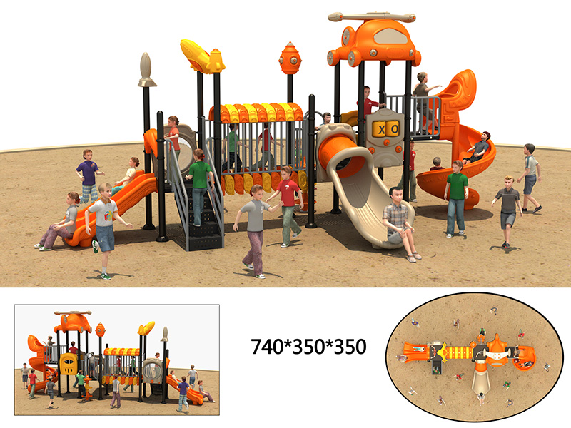 dream garden playground slides for sale customized