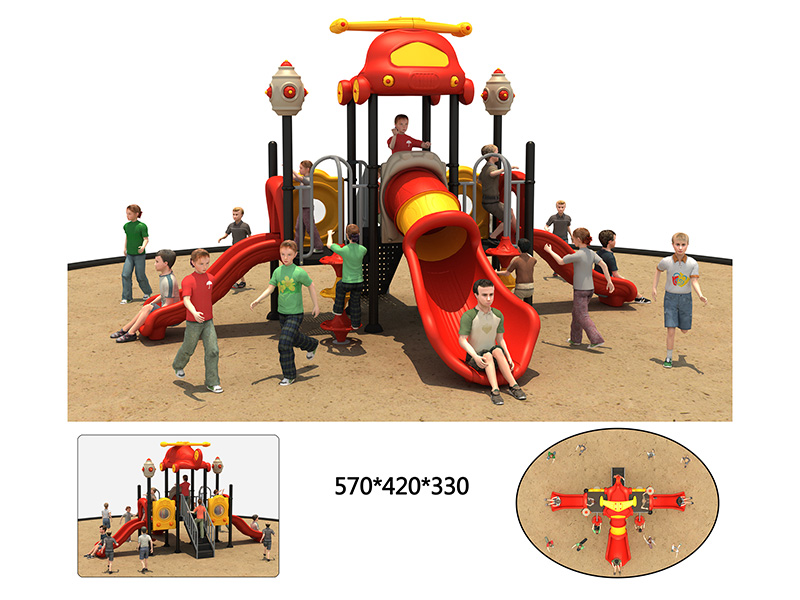 outdoor fitness playground for kids
