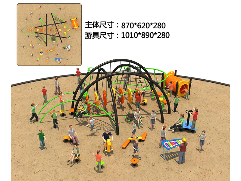 dream garden themed playgrounds customized