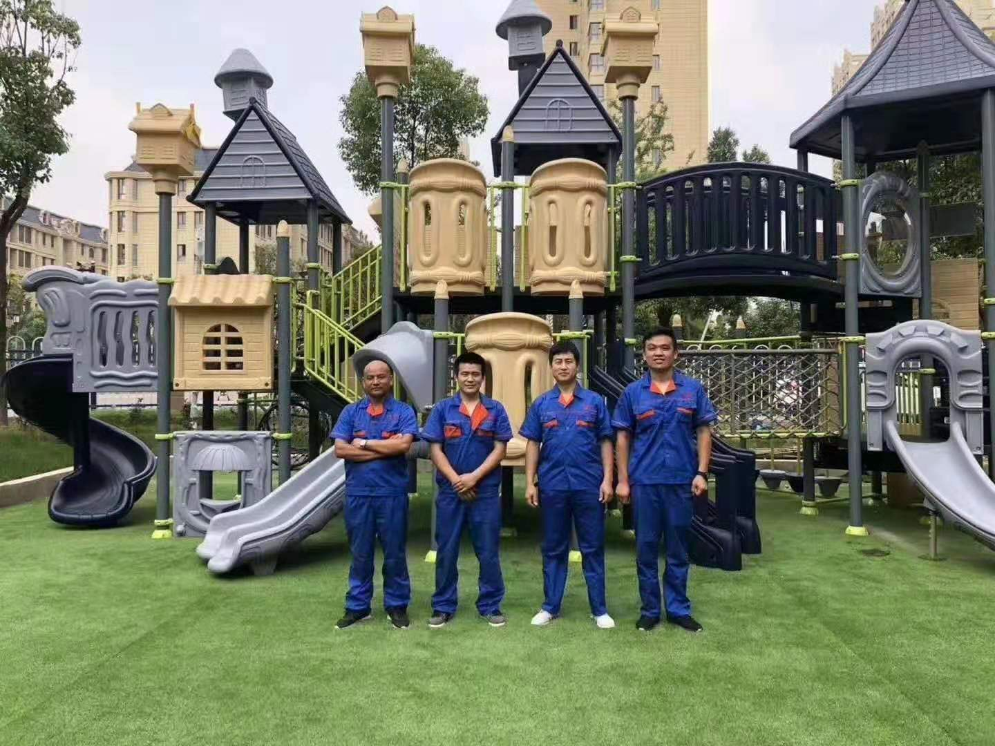 how to make the outdoor playground with more fun?