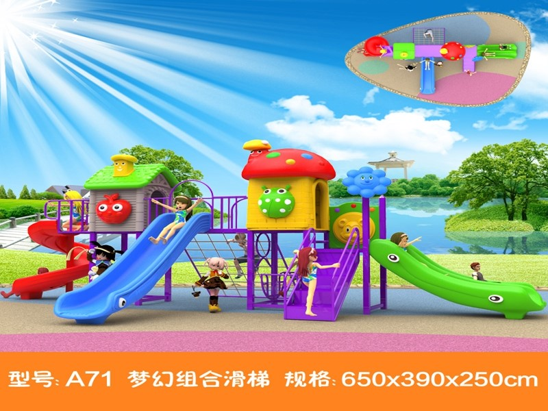Dream garden newest outdoor playground equipment