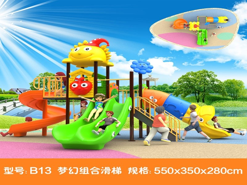 dream garden lovely outdoor playground design with high quality for park made in china
