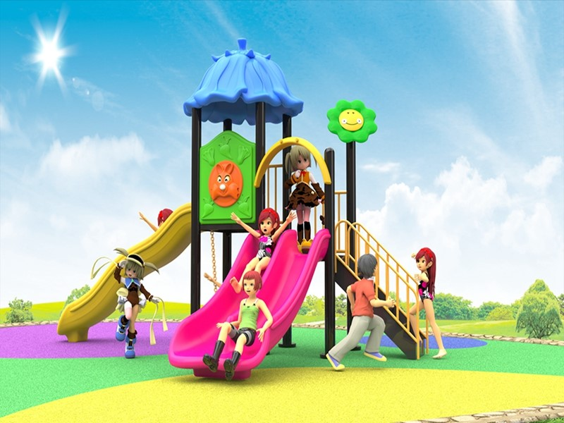 Custom outdoor playground equipment for kids