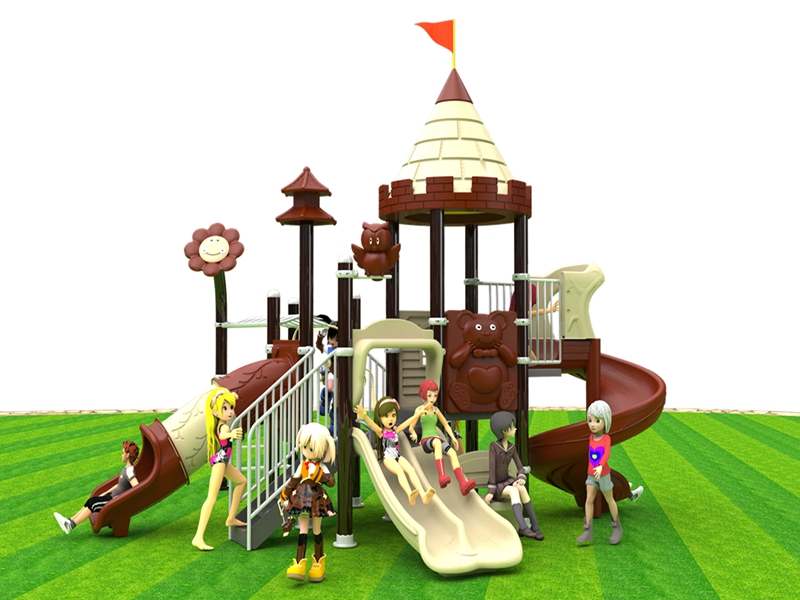 Custom dream garden outdoor playground equipment