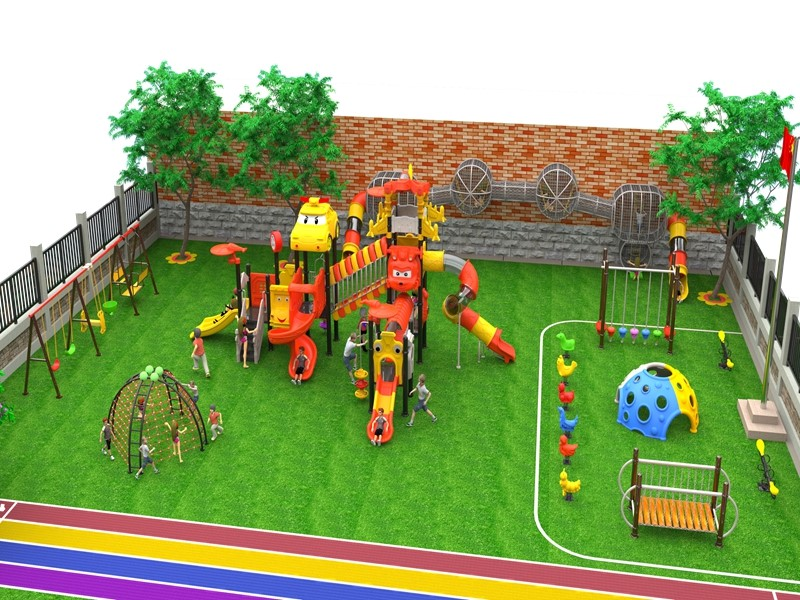 dream garden luxury playground equipment wholesaler