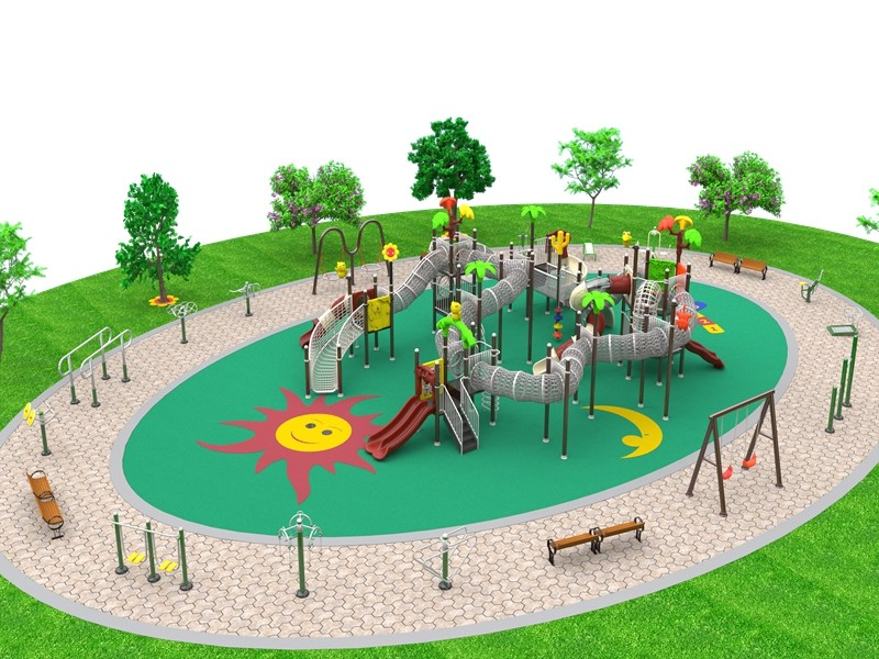dream garden playground equipment china supplier