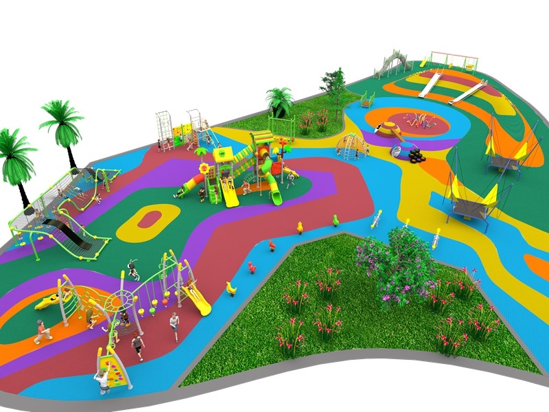 dream garden outdoor playground equipment china supplier