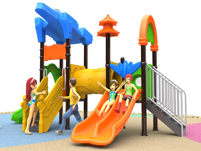 Customized leisure outdoor playground equipment