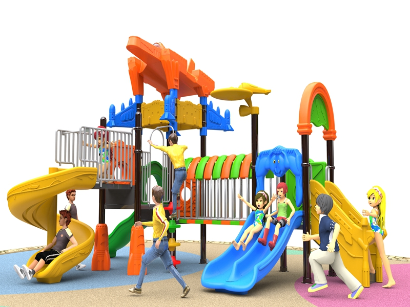 Customized leisure outdoor playground equipment playsets