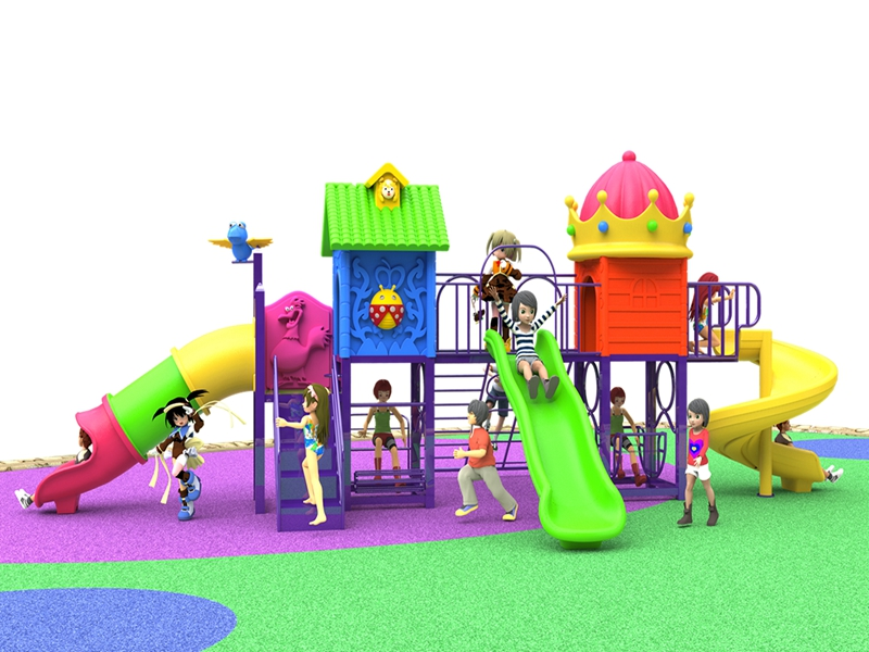Dream garden outdoor big playgrounds supplier