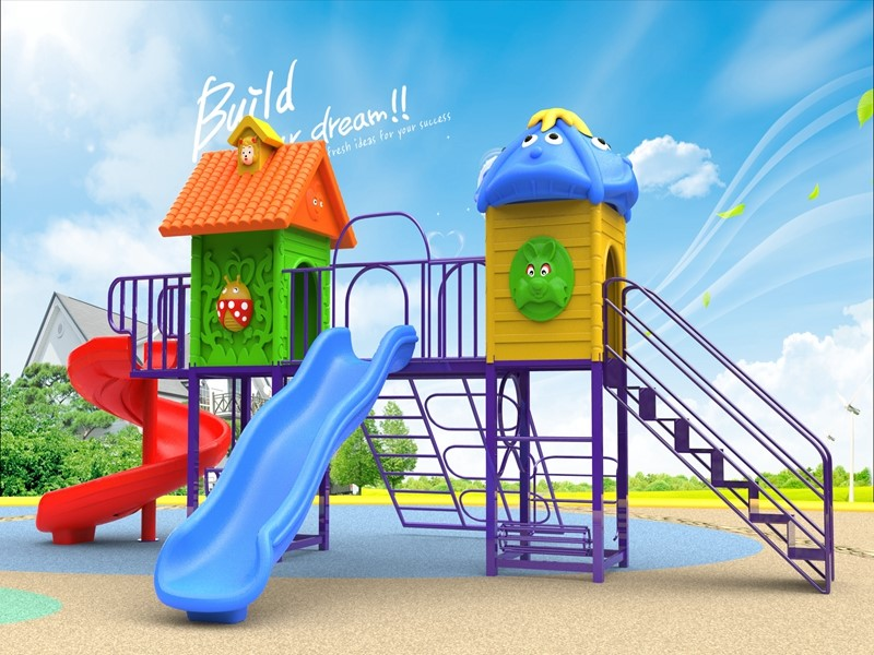Dream garden outdoor play area ground golden supplier