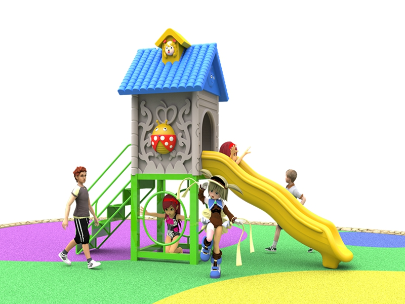 2020 new outdoor playground design for backyard