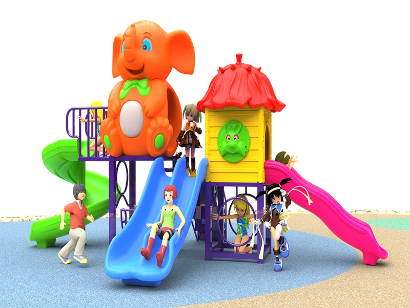 dream garden Children Plastic Slide Outdoor Playground