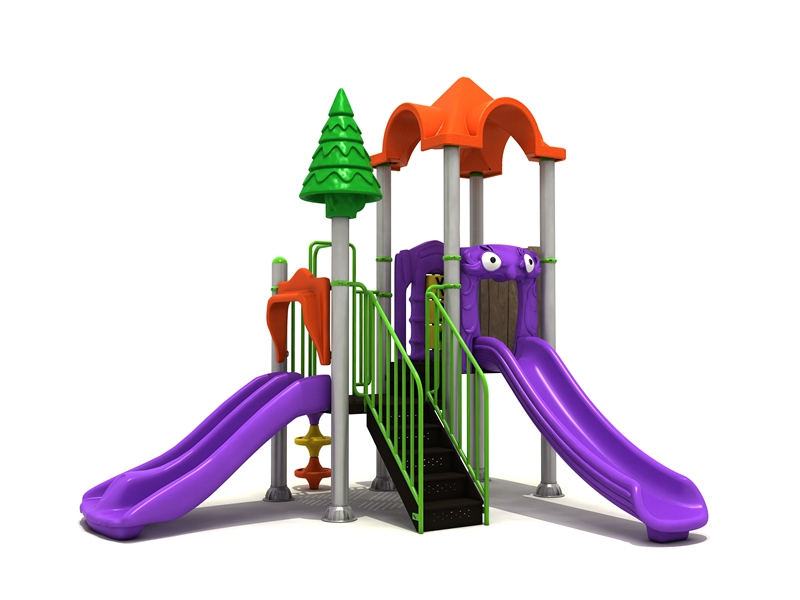 Preschool amusement park toys large children plastic slides kids outdoor garden game playground equipment items